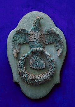 Door, Door Knocker, Knocker, Roman, Eagle, Cast Iron