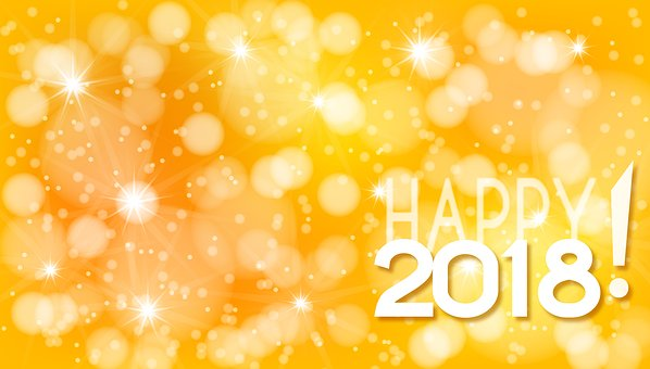 New Year, Background, Happy, New, Year, Decoration