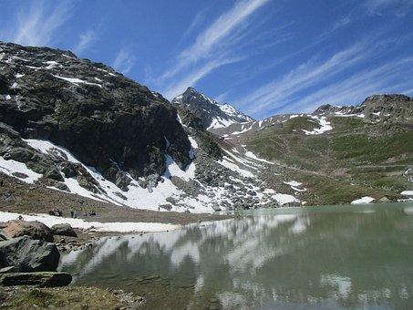 Mountain, Nature, Snow, Landscape, Panorama, Sky