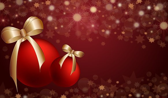 Christmas, New, Year, Background, Holiday, Decoration