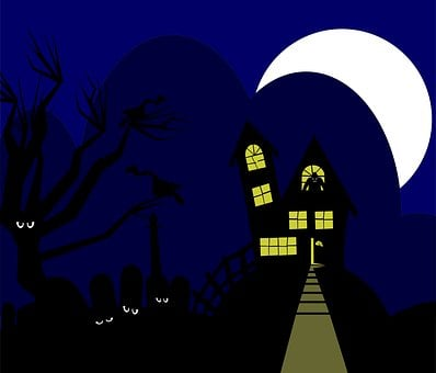 Silhouette, Graphic, Holiday, Isolated, Eyes, Cartoon