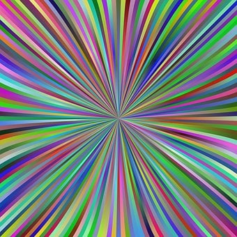 Burst, Colors, Ray, Speed, Vortex, Multicolored