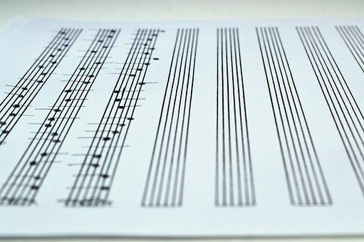 Notes, Lines, Music, Musical Notes, Staff