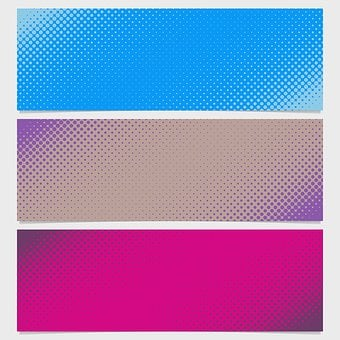 Pattern, Template, Banner, Background, Abstract, Set