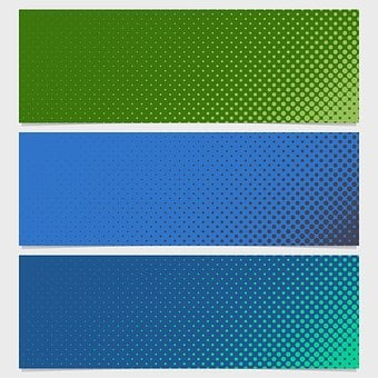 Banner, Dot, Pattern, Template, Circle, Background