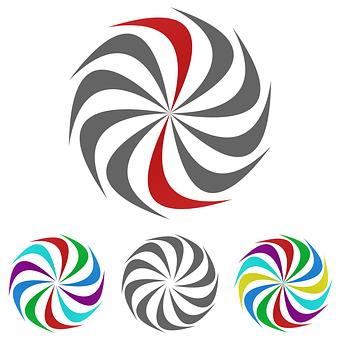 Swirl, Logo, Vector, Icon, Motion, Sign, Twirl, Curve