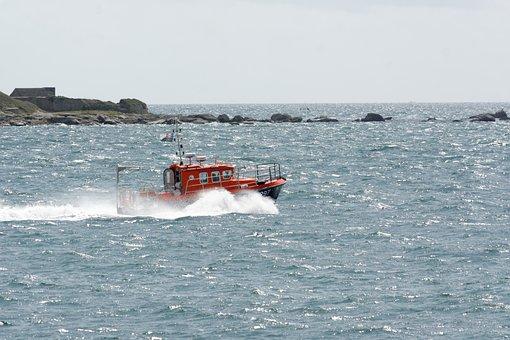 Body Of Water, Sea, Wave, Ocean, Transport, Boat
