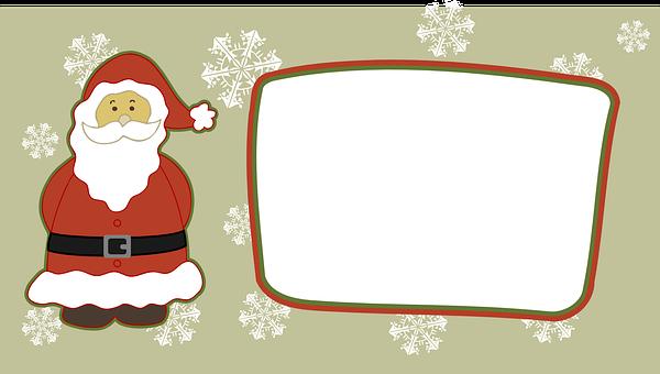 Santa Claus, Santa, Christmas, Red, Man, Winter