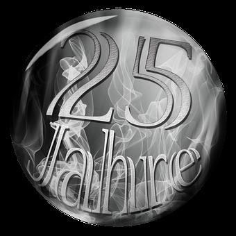 Anniversary, 25 Years, Anniversary 25 Years, Number 25
