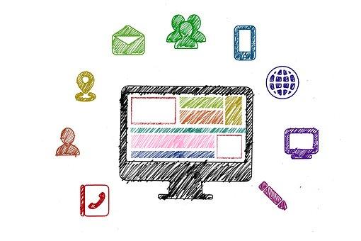 Social Media, Digitization, Digital, Letters, Email