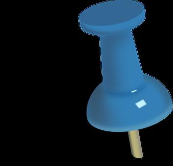 Drawing-pin, Pushpin, Push Pin, Drawing Pin, Thumbtack