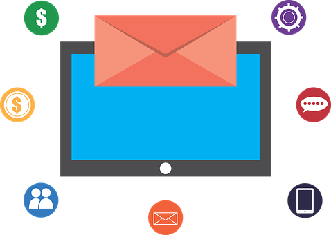 Email, Marketing, E-mail, Money, Dollar, People