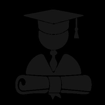 Computer Icon, Education, Studying, University, Alumni