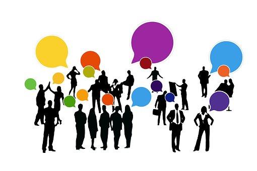 Feedback, Confirming, Businessmen, Group, Team