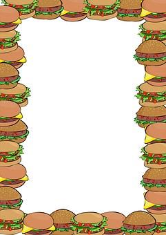 Food, Meals, Cartoon, Clip Art, Graphic, Snack, Bread