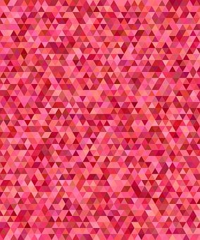 Triangle, Background, Tile, Mosaic, Abstract, Red