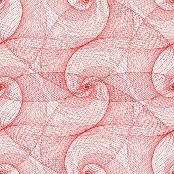 Red, Pattern, Abstract, Background, Spiral, Backdrop