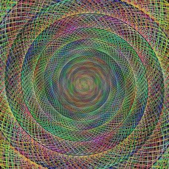 Spiral, Spin, Background, Artwork, Twirl, Twist