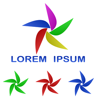 Logo, Leaf, Idea, Icon, Set, Vector, Twirl, Tech