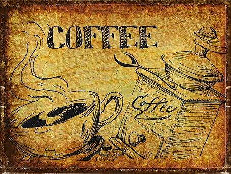 Coffee, Vintage, Cafe, Drink, Espresso, Design