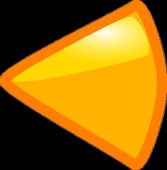 Arrow, Left, Triangle, Sign, Direction, Symbol, Shape