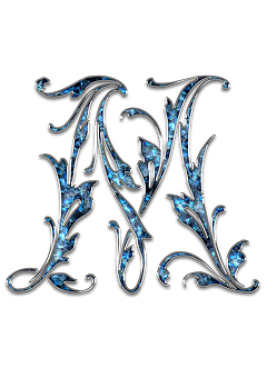 Letter, Letter M, M, Initials, Font, Alphabet