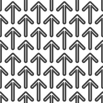 Arrow, Line, Stripe, Round, Forward, Up, Upwards