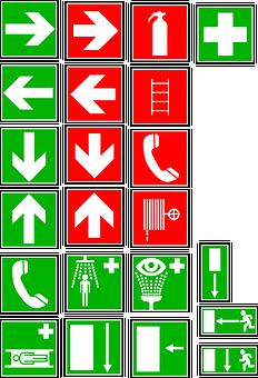 Signs, Symbols, Directions, Arrows, Design, Icon