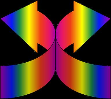 Arrows, Gradient, Design, Symbol, Sign, Direction, Blue