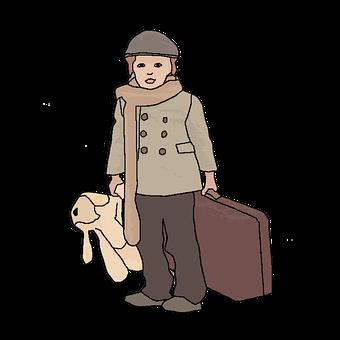 Keywords, Old-fashioned, Child, Train - Vehicle, Boys