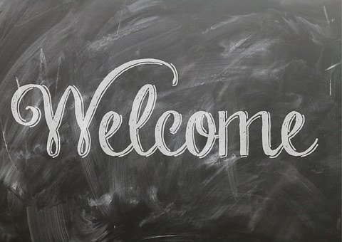 Welcome, Quote, Sign, Poster, Blackboard, Chalkboard