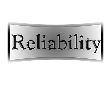 Reliability, Black, White, Gray, Button, Sign, Icon