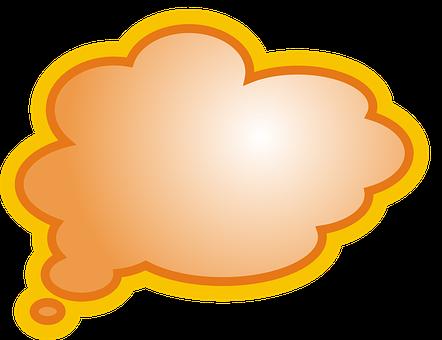 Orange, Bubble, Text, Speech, Business, Network