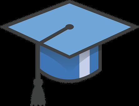 Hat, Graduation, Graduation Hat, Cap, Achievement