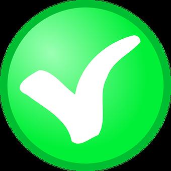 Check, Circle, Green, Checkmark, Confirm, Okay, Tick