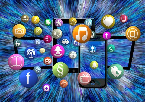 Social Media, Icon, Structure, Networks, Internet