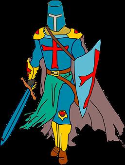 Crusader, Knight, Warrior, Battle, Armor, Sword