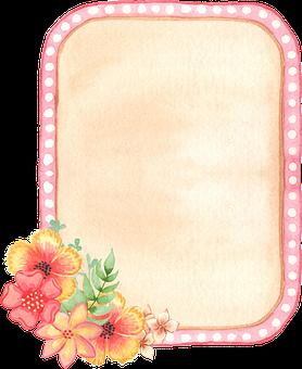 Label, Floral, Decoration, Embellishment, Watercolor