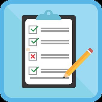 Icon, Survey, Check, Form, Mark, Test, Checklist