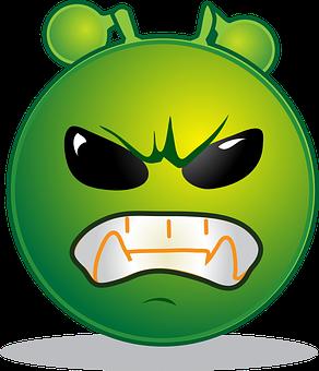 Alien, Smiley, Emoji, Emoticon, Emotions, Cartoon