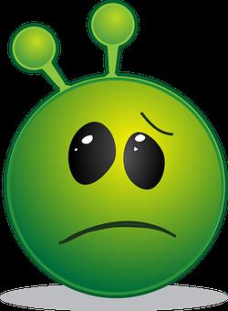 Alien, Smiley, Emoji, Emoticon, Emotion, Expression