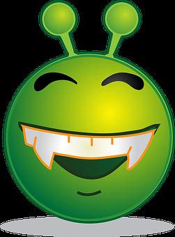 Alien, Smiley, Emoji, Emotion, Emoticon, Computer