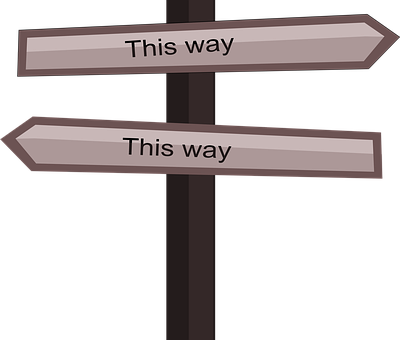 This Way, Confuse, Where To Go, Way, Confusion