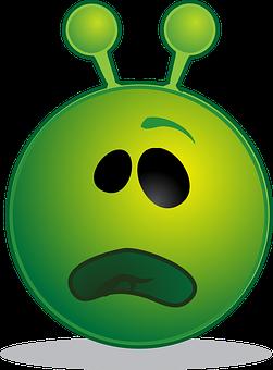 Alien, Smiley, Emoji, Emoticon, Expression, Computer