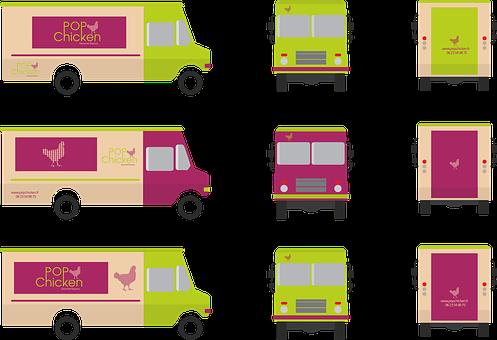 Food Truck, Truck, Food, Eat, Meals, Restaurant