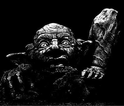 Troll, Fantasy, Monster, Character, Goblin, Creature
