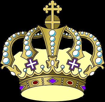 Crown, King, Retro, Royal, Old, Queen, Vintage, Royalty