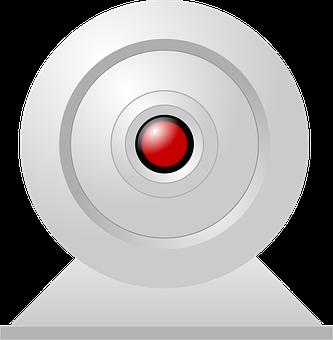 Camera, Hal, Hal 9000, Eye, Security, Red, On