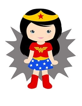 Wonder Woman, Girl, Super, Superhero, Hero, Power