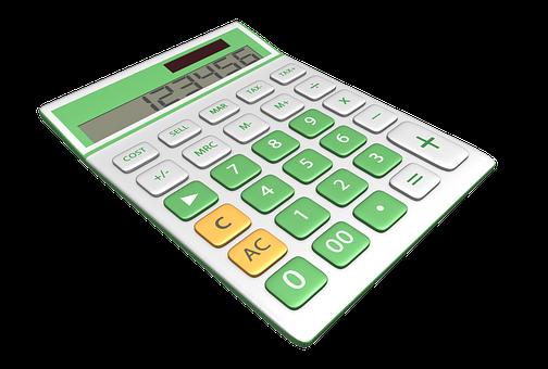 Calculator, Three Dimensional, Symbol, Sign, Business